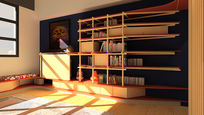 Entrée Bibliothèque HUS